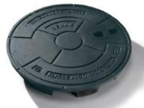 REHAU - Poklop 300 A15kN pochôdzny liatinový 176101