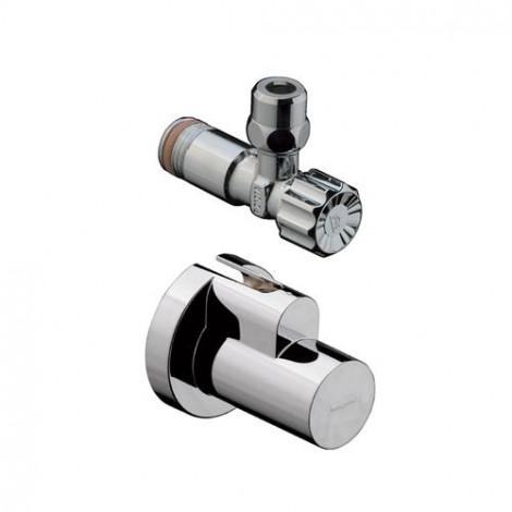 HANSGROHE - Rohový ventil s krytkou, chrom 13954000