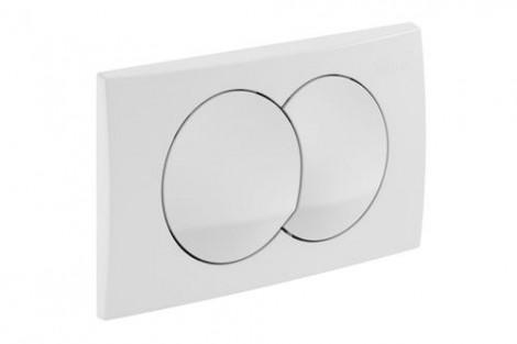 GEBERIT Delta 20 - Ovládací tlačítko, bílé 115.100.11.1