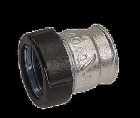 """GEBO - QI 3/4 \""""svor. Spojka ZD / 24,6-27,3 / pro ocel., PE a varné roury 17.195.01.02"""