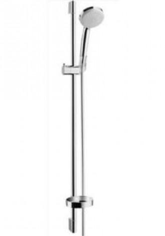 HANSGROHE Croma 100 Multi/Unica C (ruční sprcha, tyč 90 cm, hadice, mýdelník) chrom 27774000