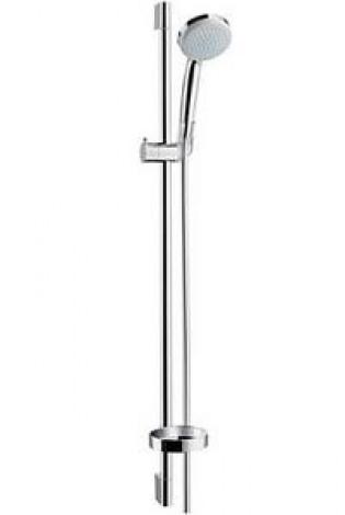 HANSGROHE Croma 100 - Souprava ruční sprchy Vario / nástěnné tyče UnicaC 0,90 m, chrom 27771000