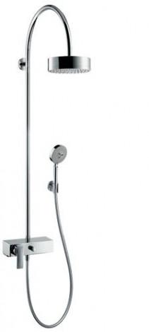 HANSGROHE Citterio - Sprchová souprava Showerpipe s pákovou baterií s přepínačem, chrom 39620000