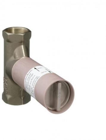 HANSGROHE - Základní těleso uzavíracího ventilu pod omítku s vřetenem DN20, 130l/min. 15970180