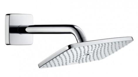 Hansgrohe Raindance E - Hlavová sprcha 240, sprchové rameno 240 mm, chrom 27370000