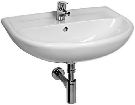 JIKA Lyra plus - Umyvadlo s přepadem 600x490 mm, bílá H8143830001091