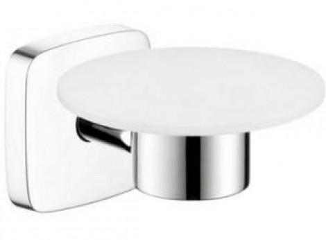 HANSGROHE PuraVida - Miska na mýdlo, držák, kov, chrom 41502000