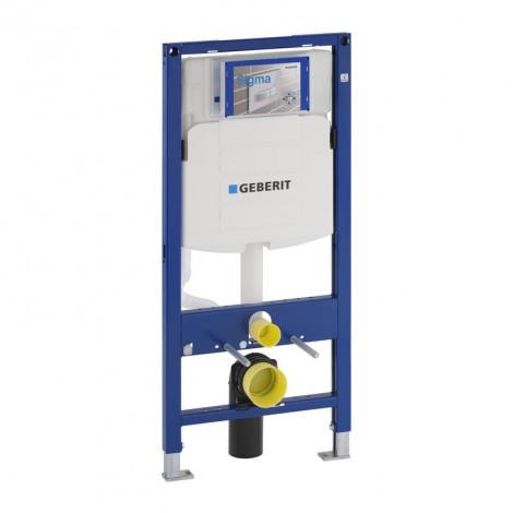Geberit Duofix - Montážní prvek pro závěsné WC, 112 cm, splachovací nádržka pod omítku Sigma 12 cm 111.300.00.5