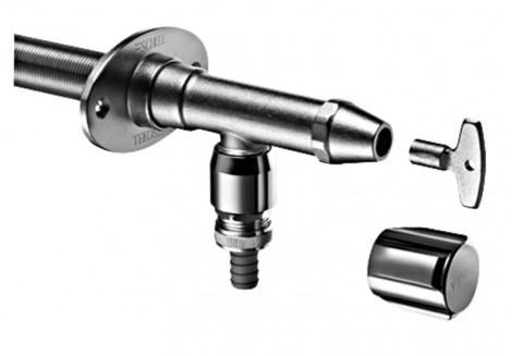 """SCHELL - Venkovní nezámrzný ventil Polar II Set Comfort RB, zkracovatelný 1/2\"""" ZD, chrom SCH 03997039"""