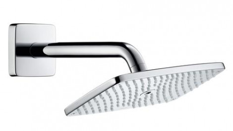 Hansgrohe Raindance E - Hlavová sprcha 240, EcoSmart 9 l/min, sprchové rameno 240 mm, chrom 27375000