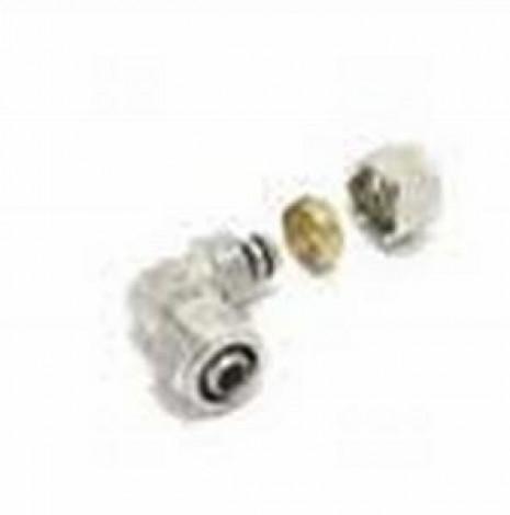 COMAP - Koleno 9463 20x2 svěrný spoj mosaz na rozvod vody a topení 9463051-02