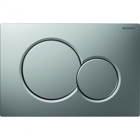 GEBERIT Sigma 01 - Ovládací tlačítko WC, matný chrom 115.770.46.5