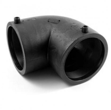 ASIMEX HDPE100 - Elektrofúzní koleno 90° SDR11 DN 32, ASM ELB03290FOX