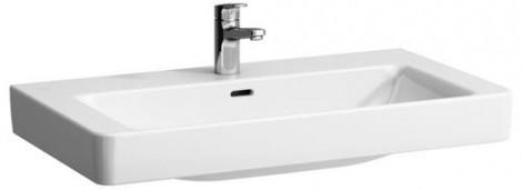 LAUFEN Pro S - Umyvadlo 85x46 do nábytku s otvorem broušená spodní část, bílé LCC H8169654001041