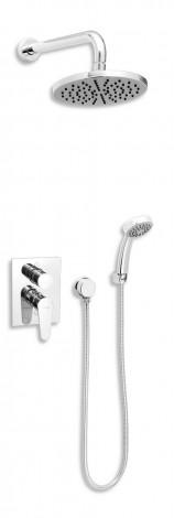 NOVASERVIS Koupelnová sada sprchová podomítková FRESH SADA96050R