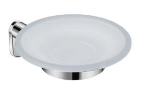 JIKA - Držák s mýdlenka, sklo matné / chrom H3833A10040001
