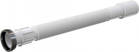 """ALCA PLAST - Flexi připojení 5/4 \""""x32 / 40 délka 35-80 cm matice kov bílé A76"""