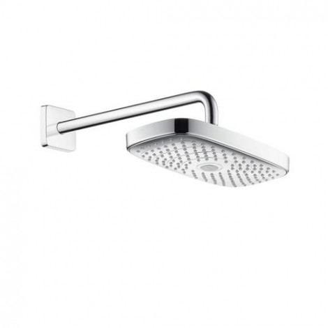 Hansgrohe Raindance Select E - Horní sprcha 300, 2 proudy, sprchové rameno 390 mm, chrom 27385000