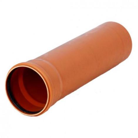 REHAU - Roura KGEM PVC 125x3,1x500 KGEM125.0,5