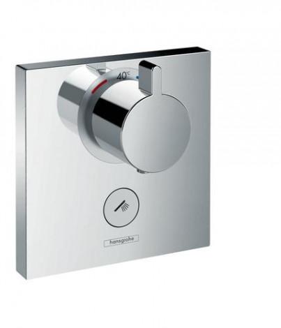 Hansgrohe Shower Select - Termostatická baterie pod omítku, 1 standardní a 1 dodatečný výstup, chrom 15761000
