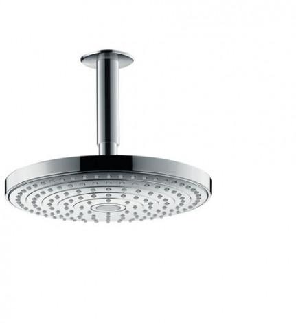 Hansgrohe Raindance Select S - Hlavová sprcha 240, 2 proudy, sprchové rameno 100 mm, bílá/chrom 26467400