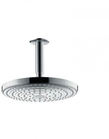 Hansgrohe Raindance Select S - Hlavová sprcha 240, 2 proudy, EcoSmart 9 l/min, sprchové rameno 100 mm, chrom 26469000