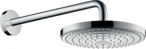 Hansgrohe Raindance Select S - Hlavová sprcha 240, 2 proudy, EcoSmart 9 l/min, sprchové rameno 390 mm, chrom 26470000