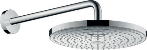 Hansgrohe Raindance Select S - Hlavová sprcha 300, 2 proudy, sprchové rameno 390 mm, bílá/chrom 27378400