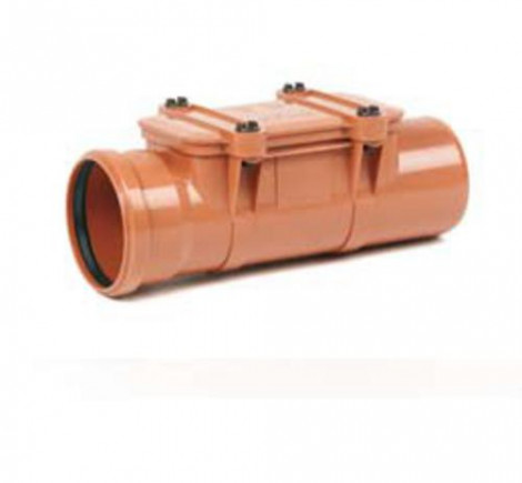 REHAU - Čistící kus PVC 125 kan. se 4 šrouby 172304