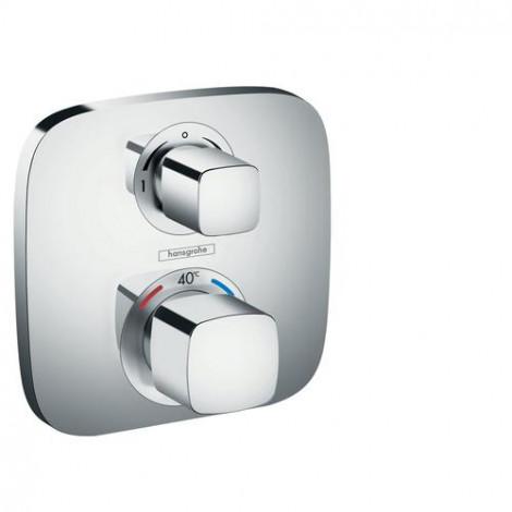 Hansgrohe Ecostat E - Termostatická baterie pod omítku s uzavíracím a přepínacím ventilem,15708000
