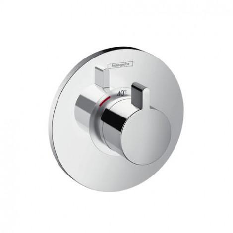 HANSGROHE Ecostat S - Termostatická podomítková baterie 59 l / min, chrom 15756000