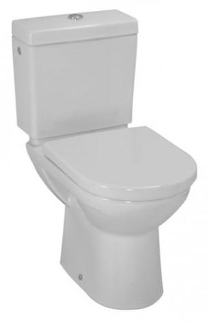 LAUFEN Pro kombi - Mísa stojatá s hlub. splachováním odpad SO bílá H8249570000001