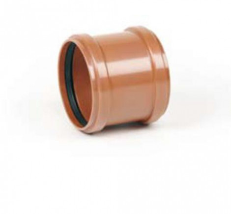 REHAU - Spojka  PVC dvojhrdlova DN160 KGMM160