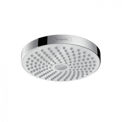 Hansgrohe Croma Select S - Horní sprcha 180 2jet EcoSmart 9 l/min, bílá/chrom 26523400