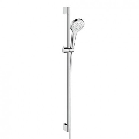 Hansgrohe Croma Select S - Sprchová souprava Vario EcoSmart 9 l/min 0,90m, bílá/chrom 26573400
