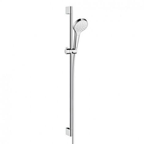 Hansgrohe Croma Select S - Sprchová souprava 1jet EcoSmart 9 l/min 0,90m, bílá/chrom 26575400