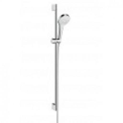 HANSGROHE Croma Select E - Sprchová souprava Vario 0,65m, bílá/chrom 26582400