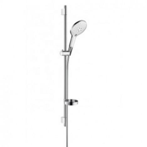 Hansgrohe Croma Select E - Sprchová souprava Vario 0,65m, bílá/chrom 26583400