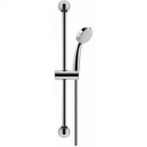 HERZ Infinity - Sprchový systém (držák, hadice, hlavice) chrom UH12460