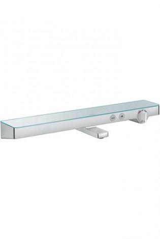 Hansgrohe ShowerTablet Select - Termostatická vanová baterie 700, bílá/chrom 13183400