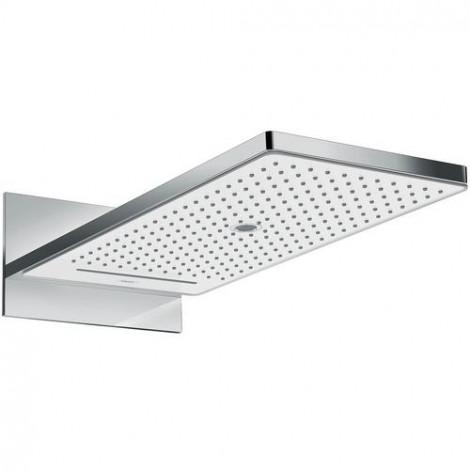 Hansgrohe Rainmaker Select - Horní sprcha 580, 3 proudy, bílá/chrom 24001400
