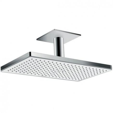 Hansgrohe Rainmaker Select - Hlavová sprcha 460, sprchové rameno 100 mm, bílá/chrom 24002400