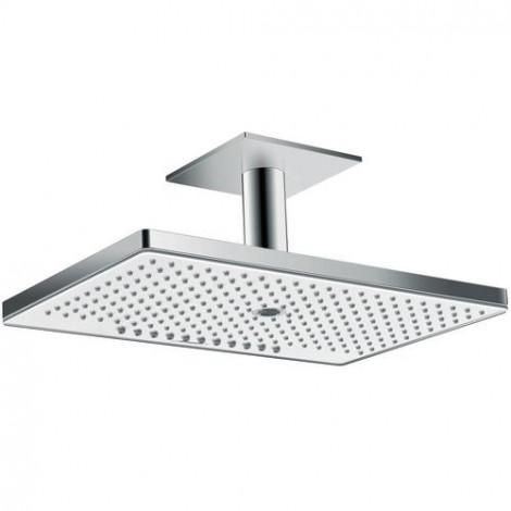 Hansgrohe Rainmaker Select - Hlavová sprcha 460, 3 proudy, sprchové rameno 100 mm, bílá/chrom 24006400