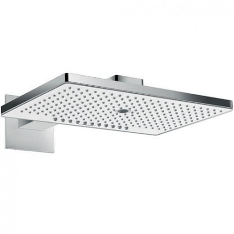 Hansgrohe Rainmaker Select - Hlavová sprcha 460, 3 proudy, sprchové rameno 460 mm, bílá/chrom 24007400