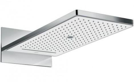 Hansgrohe Rainmaker Select - Hlavová sprcha 580, 3 proudy, EcoSmart 9 l/min, bílá/chrom 24011400