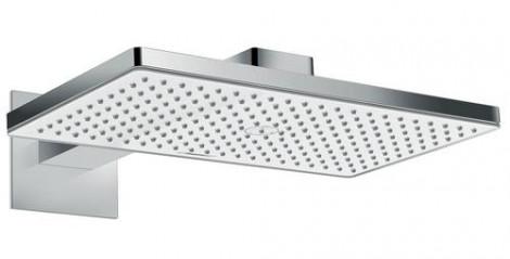 Hansgrohe Rainmaker Select - Hlavová sprcha 460, EcoSmart 9 l/min, sprchové rameno 460 mm, bílá/chrom 24013400