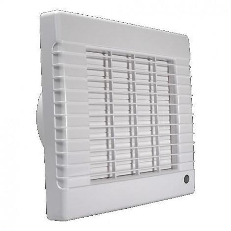 DALAP - Ventilátor DALAP 100 LV koupelnový, automatická žaluzie, kuličkové ložisko 128m3/hod, bílý DAL 41101