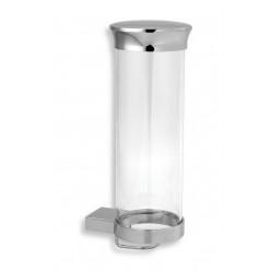 Novaservis Metalia 9 - Zásobník na kosmetické tampóny, chrom 0972,0