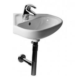 JIKA Deep - Umývátko, 450mm x 460mm, bílé - jednootvorové umývátko H8166120001041