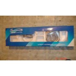 TECHNOLINE - Set 6 koupelnových doplňků, chrom TLS 6700